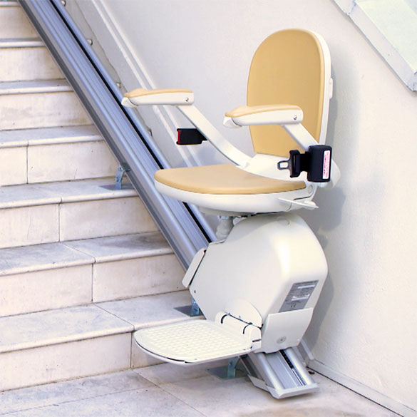 san francisco outdoor stairlift exterior acorn 130 stair chair outside