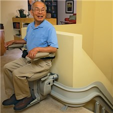 stairlift san francisco curved cre2110
