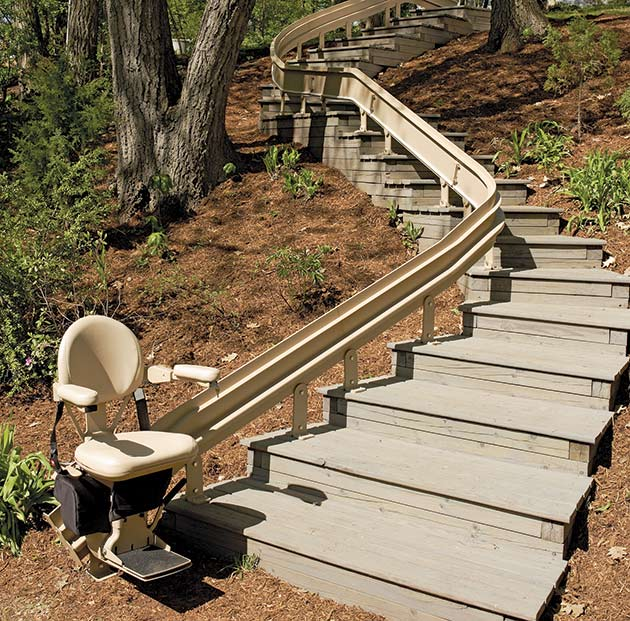 curved stairway staircase chair stair lift of san francisco is the  bay area installation company