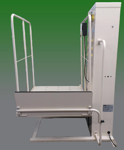 macpl50 porch lift vertical wheelchair platform