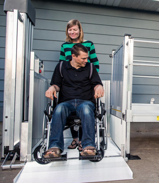 ez access passport wheelchair lift elevator